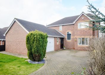 Thumbnail 4 bed detached house for sale in Cliff Drive, Burton Upon Stather