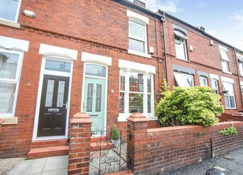 Thumbnail 2 bed terraced house for sale in Stockholm Road, Stockport, Greater Manchester
