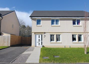 Thumbnail 3 bedroom semi-detached house for sale in Brock Road, Milton Of Leys, Inverness