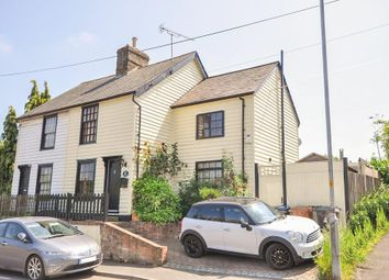 Thumbnail 3 bed cottage for sale in High Wych Road, Sawbridgeworth