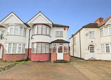 Thumbnail 3 bed semi-detached house for sale in Alveston Avenue, Harrow, Greater London