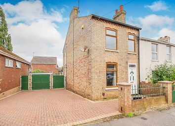 Thumbnail 2 bedroom semi-detached house for sale in Norwich Road, Wisbech