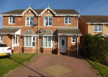 Thumbnail 3 bedroom semi-detached house to rent in Thornbury Close, Hartlepool