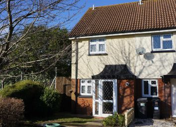 Thumbnail 2 bed end terrace house to rent in Stinsford Close, Muscliff, Bournemouth