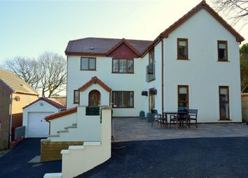 Thumbnail 5 bed detached house for sale in Ffordd Dryden, Killay, Swansea