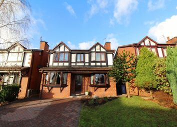 Thumbnail 3 bedroom detached house for sale in Fettler Close, Swinton, Manchester