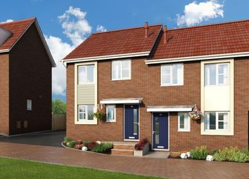 "Thumbnail 3 bed property for sale in ""The Cornflower At Meadow View, Shirebrook"" at Brook Park East Road, Shirebrook, Mansfield"