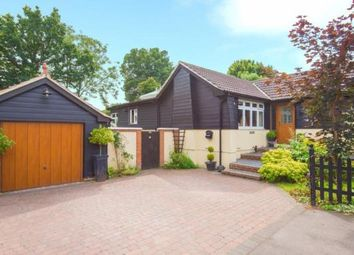 Thumbnail 4 bed bungalow for sale in Spring Pond Meadow, Hook End, Brentwood, Essex