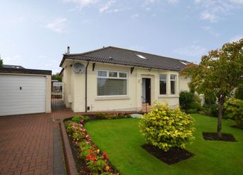 Thumbnail 3 bed semi-detached bungalow for sale in 33 South Crosshill Road, Bishopbriggs, Glasgow