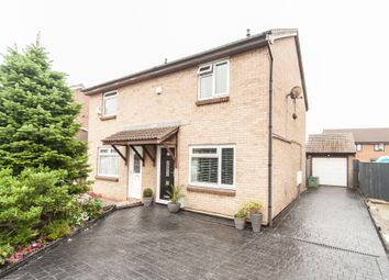 Thumbnail 3 bed semi-detached house for sale in Sledmere Close, Billingham