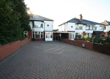 Thumbnail 3 bed semi-detached house to rent in Bolton Road, Bury, Bury