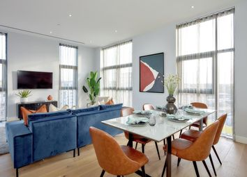 Thumbnail 3 bed flat for sale in The Celeste Apartments, London