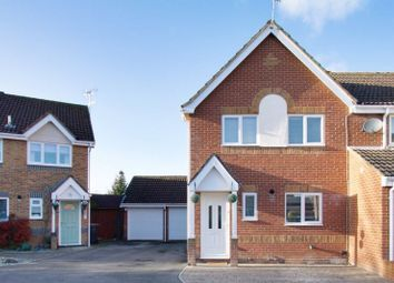 Thumbnail 3 bed semi-detached house for sale in Hackwood Close, Millway Gardens, Andover