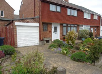 Thumbnail 3 bedroom semi-detached house for sale in Coniston Avenue, Whickham, Newcastle Upon Tyne