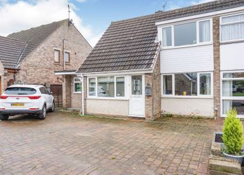 Thumbnail 3 bed semi-detached bungalow for sale in The Meadows, Howden