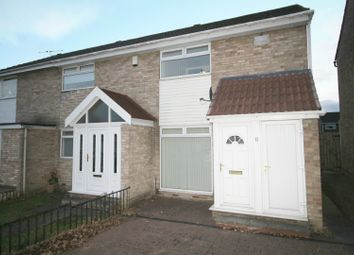 Thumbnail 2 bed semi-detached house for sale in Mossbank Grove, Darlington, Durham