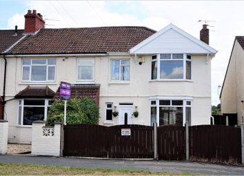 Thumbnail 4 bedroom end terrace house for sale in Church Road, Hanham
