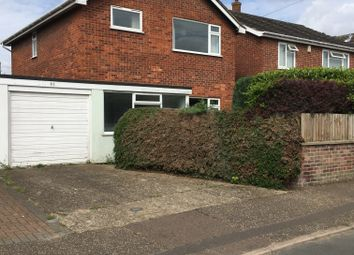 Thumbnail 3 bedroom detached house for sale in Eversley Road, Norwich