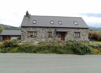 Thumbnail 4 bed detached bungalow for sale in Brithdir, Dolgellau