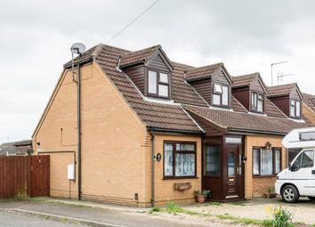 Thumbnail 2 bed semi-detached house for sale in Woodlands Court, Wisbech
