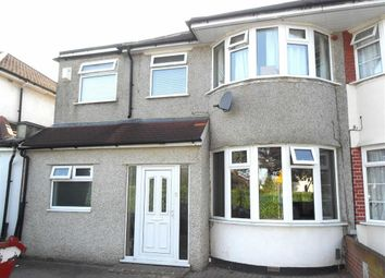 Thumbnail 4 bed semi-detached house to rent in Harlington Road, Bexleyheath, Kent