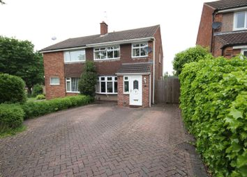 Thumbnail 3 bed semi-detached house for sale in Langford Road, Mickleover, Derby