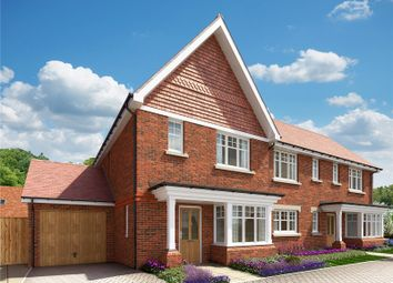 Thumbnail 3 bedroom detached house for sale in Hitches Lane, Fleet, Hampshire