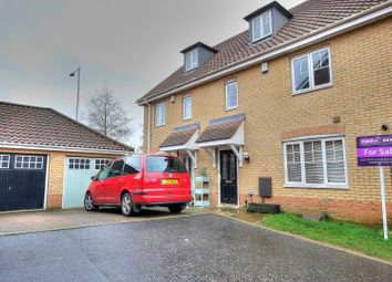 Thumbnail 3 bed terraced house for sale in Attelsey Way, Norwich