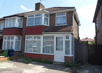 Thumbnail 3 bedroom semi-detached house to rent in Peareswood Gardens, Stanmore