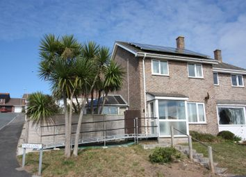 Thumbnail 3 bed semi-detached house for sale in Pydar Close, Newquay