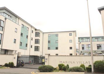 Thumbnail 1 bed flat to rent in Marina Villas, Swansea