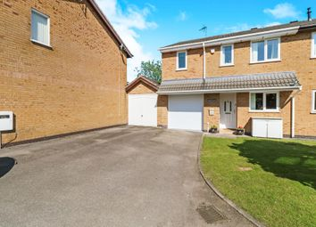 Thumbnail 3 bed semi-detached house for sale in Turville Close, Wigston