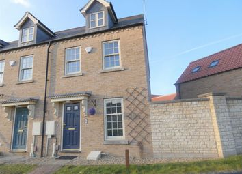 Thumbnail 3 bed end terrace house for sale in Strawberry Avenue, Bretton, Peterborough, Cambridgeshire