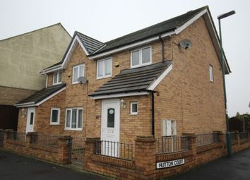 Thumbnail 3 bedroom semi-detached house to rent in Hutton Court, Annfield Plain, Stanley