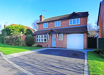 Thumbnail 4 bed detached house for sale in Elmbridge Drive, Shirley, Solihull