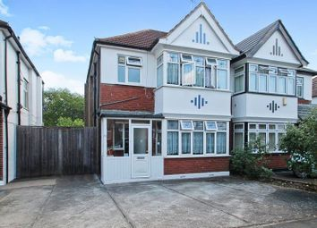 Thumbnail 3 bed semi-detached house for sale in Regal Way, Kenton, Harrow