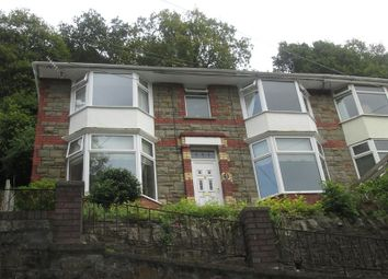 Thumbnail 3 bed semi-detached house for sale in Rhyswg Road, Abercarn, Newport.