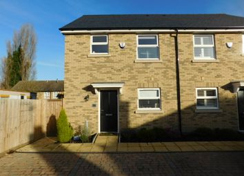 Thumbnail 3 bed semi-detached house for sale in Church Lane, Arlesey, Beds