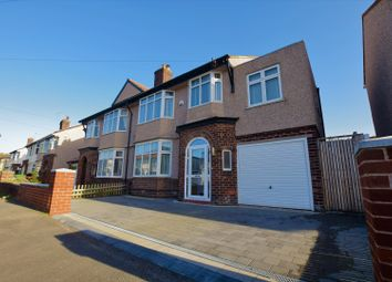 Thumbnail 4 bed semi-detached house for sale in Bangor Road, Wallasey