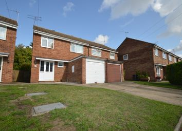 Thumbnail 3 bed semi-detached house for sale in Princedale Close, Ipswich