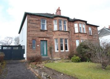 Thumbnail 3 bed semi-detached house for sale in Clarkston Road, Netherlee, East Renfrewshire, United Kingdom