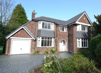 Thumbnail 4 bed detached house to rent in Knutsford Road, Wilmslow