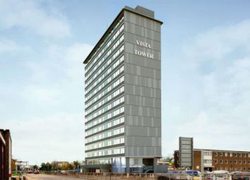 Thumbnail 2 bed flat for sale in Vista Tower, St Georges Way, Stevenage