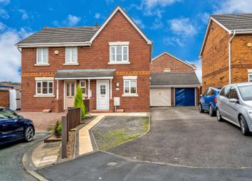 Thumbnail 2 bed semi-detached house for sale in Waterlily Close, Hednesford, Cannock