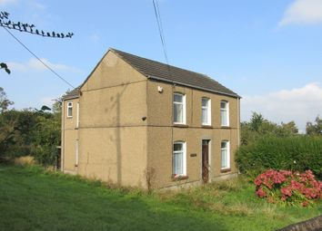 Thumbnail 4 bed detached house for sale in Park Road, Penclawdd, Swansea