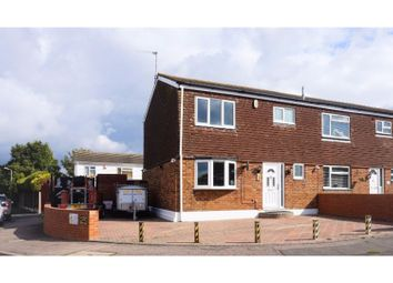 Thumbnail 3 bed end terrace house for sale in Northview, Swanley