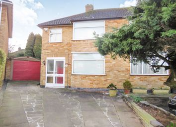 Thumbnail 3 bedroom semi-detached house for sale in Castleford Road, Braunstone, Leicester