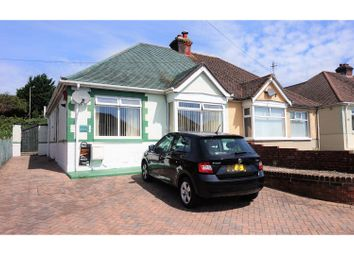 Thumbnail 2 bed semi-detached bungalow for sale in The Crossway, Fareham