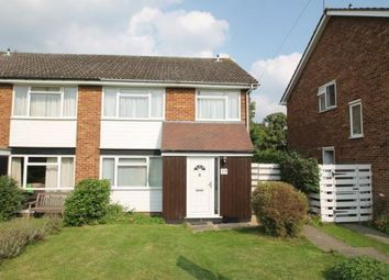 Thumbnail 4 bed semi-detached house to rent in Burnt Common Close, Ripley, Woking