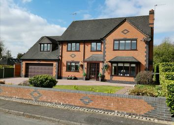 5 bed detached house for sale in Cherry Tree, Bedcroft, Barlaston, Stoke-On-Trent ST12